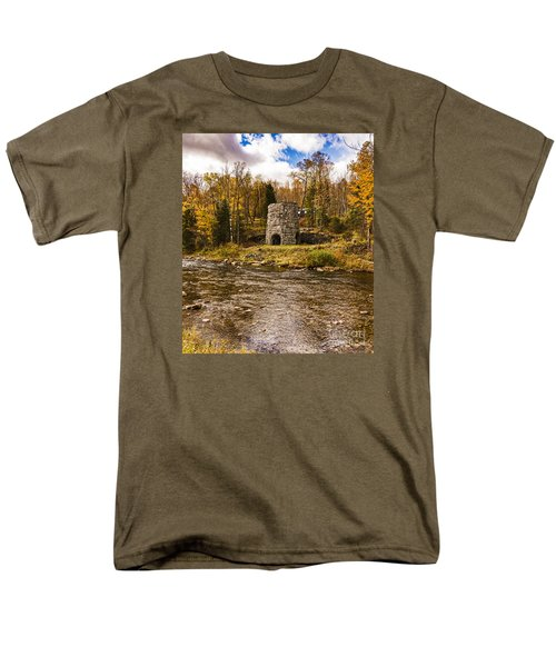 Men's T-Shirt  (Regular Fit) featuring the photograph Franconia Fall by Anthony Baatz