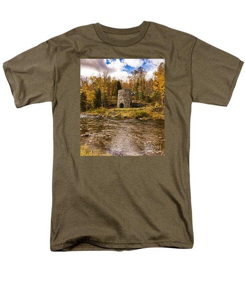 Franconia Fall Men's T-Shirt  (Regular Fit) by Anthony Baatz
