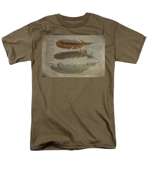 Free Spirit Men's T-Shirt  (Regular Fit) by Toni Hopper