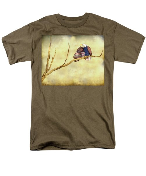 Men's T-Shirt  (Regular Fit) featuring the photograph Freedom by James BO Insogna