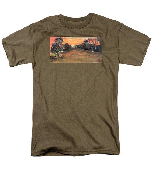 Freedom Road Men's T-Shirt  (Regular Fit) by Remegio Onia