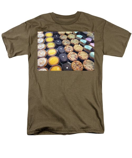 Men's T-Shirt  (Regular Fit) featuring the photograph French Tarts by Therese Alcorn