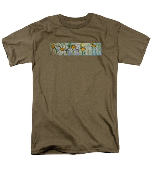 Fresh As A Daisy Men's T-Shirt  (Regular Fit) by Ruth Kamenev