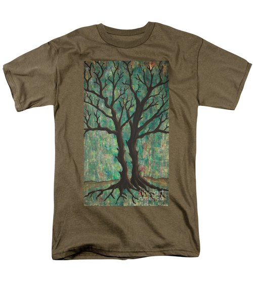 Men's T-Shirt  (Regular Fit) featuring the painting Friends by Jacqueline Athmann