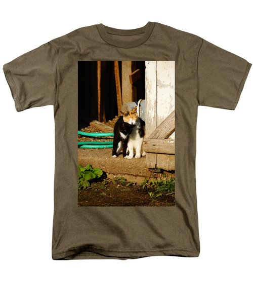Men's T-Shirt  (Regular Fit) featuring the photograph Friends by Steven Clipperton