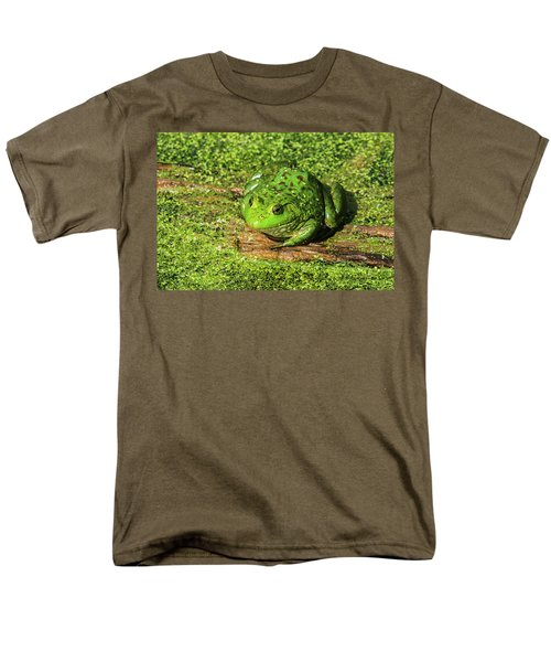 Frog And Duck Weed Men's T-Shirt  (Regular Fit) by Edward Peterson