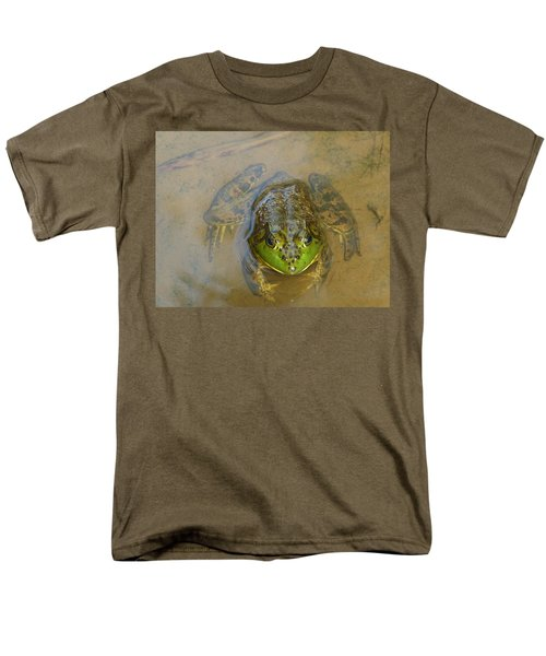 Men's T-Shirt  (Regular Fit) featuring the photograph Frog Of Lake Redman by Donald C Morgan