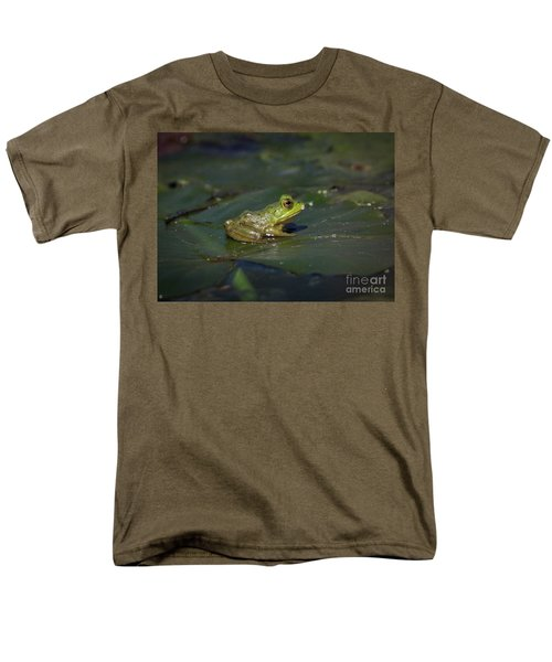 Froggy 2 Men's T-Shirt  (Regular Fit) by Douglas Stucky