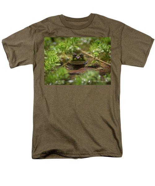 Men's T-Shirt  (Regular Fit) featuring the photograph Froggy by Douglas Stucky