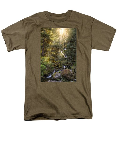 From Above Men's T-Shirt  (Regular Fit) by James Heckt