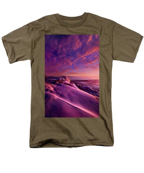 Men's T-Shirt  (Regular Fit) featuring the photograph From Inside The Heart Of Each by Phil Koch