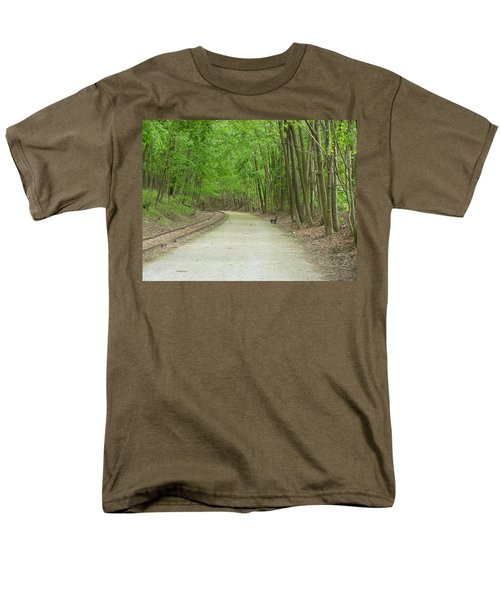 Men's T-Shirt  (Regular Fit) featuring the photograph From The Summit by Donald C Morgan