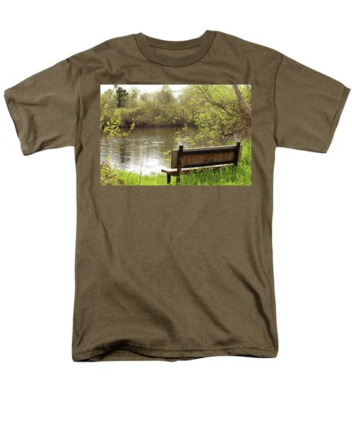 Men's T-Shirt  (Regular Fit) featuring the photograph Front Row Seat by Art Block Collections
