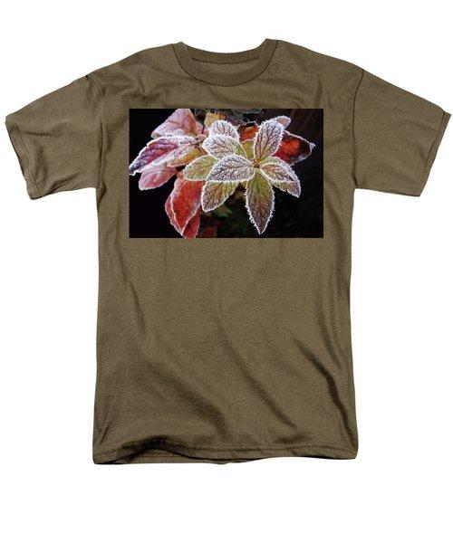Frost Cluster Men's T-Shirt  (Regular Fit) by Betsy Zimmerli