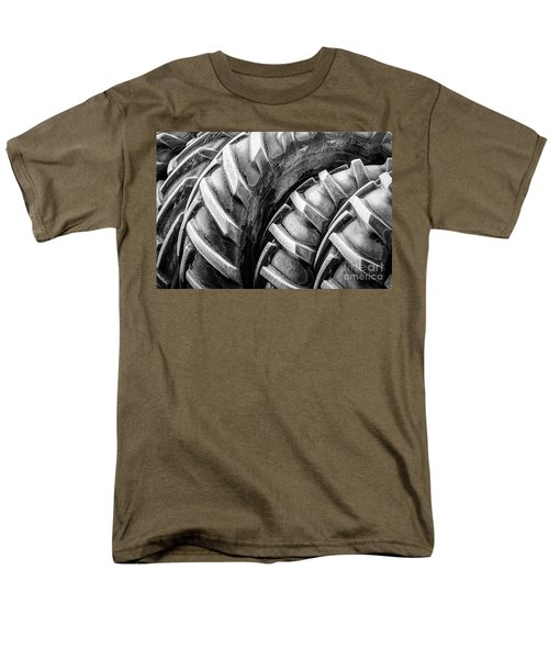Men's T-Shirt  (Regular Fit) featuring the photograph Frosted Tires by Brad Allen Fine Art