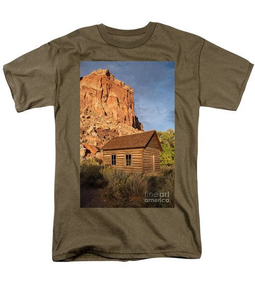 Fruita School Men's T-Shirt  (Regular Fit) by Cindy Murphy - NightVisions
