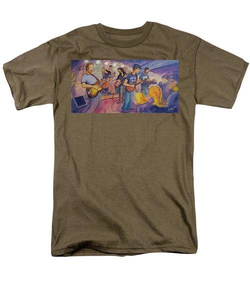 Fruition At The Barkley Ballroom Men's T-Shirt  (Regular Fit) by David Sockrider