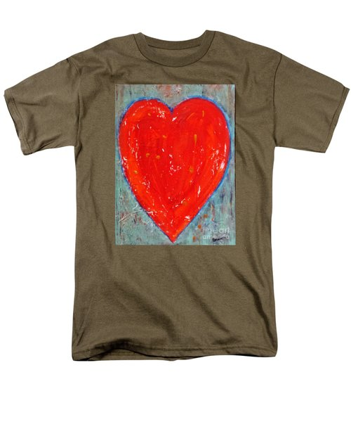 Full Heart Men's T-Shirt  (Regular Fit) by Diana Bursztein