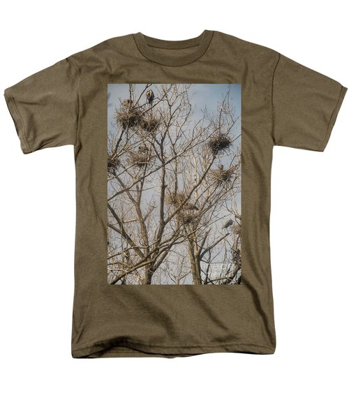 Men's T-Shirt  (Regular Fit) featuring the photograph Full House by David Bearden