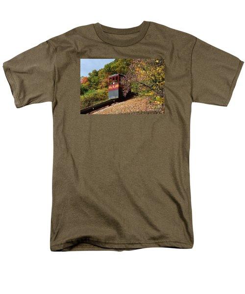 Funicular Descending Men's T-Shirt  (Regular Fit) by Cindy Manero