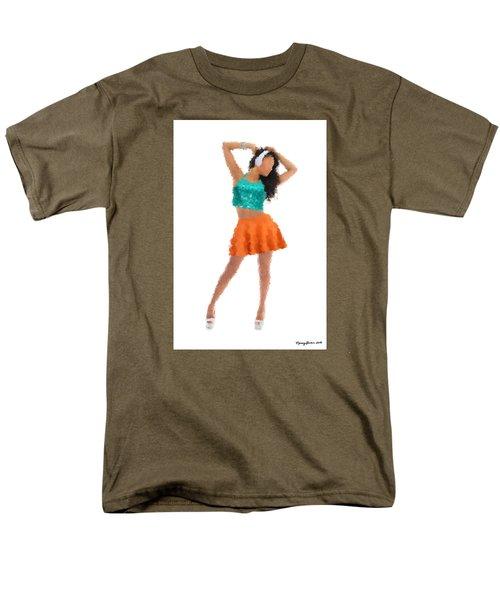 Men's T-Shirt  (Regular Fit) featuring the digital art Gaby by Nancy Levan