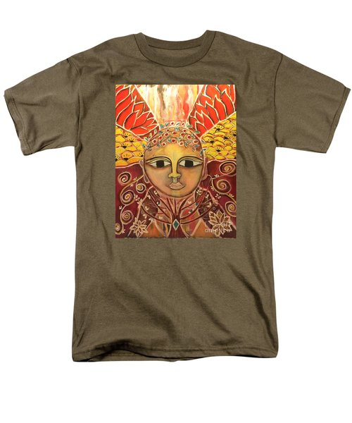Gaia - Mother Earth  Men's T-Shirt  (Regular Fit) by Corina  Stupu Thomas