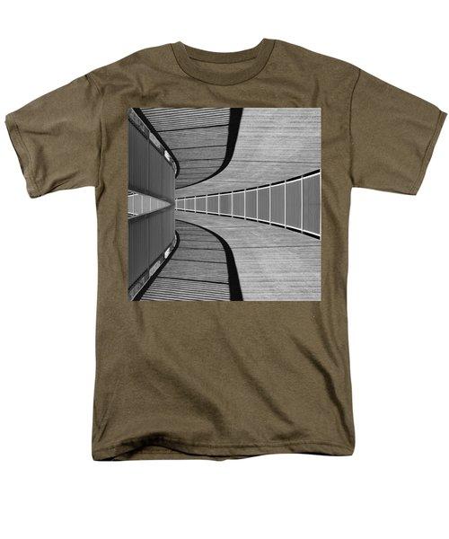 Men's T-Shirt  (Regular Fit) featuring the photograph Gangway by Chevy Fleet