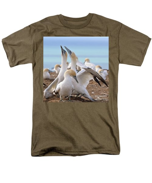 Gannets Men's T-Shirt  (Regular Fit) by Werner Padarin