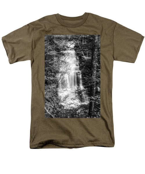 Ganoga Falls - 8907 Men's T-Shirt  (Regular Fit) by G L Sarti