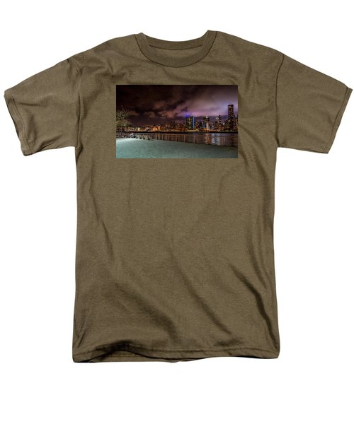 Gantry Park Men's T-Shirt  (Regular Fit) by Rafael Quirindongo