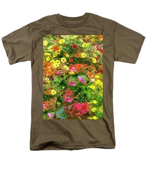 Garden Of Color Men's T-Shirt  (Regular Fit) by Josy Cue
