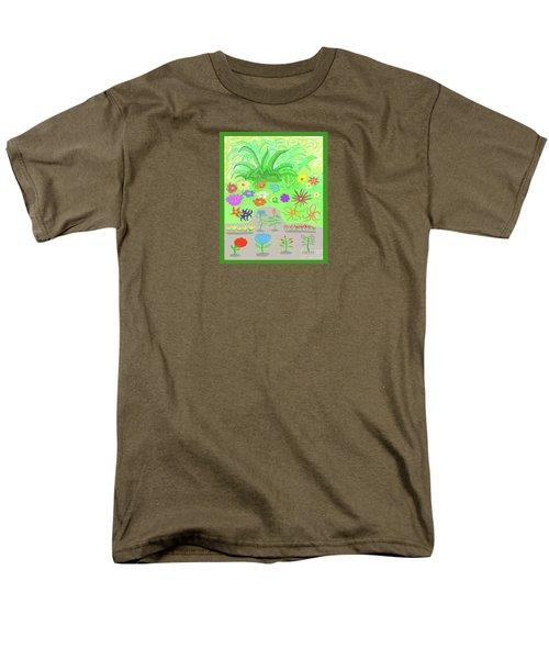 Garden Of Memories Men's T-Shirt  (Regular Fit) by Fred Jinkins