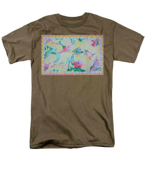 Garden Party Floorcloth Men's T-Shirt  (Regular Fit) by Judith Espinoza