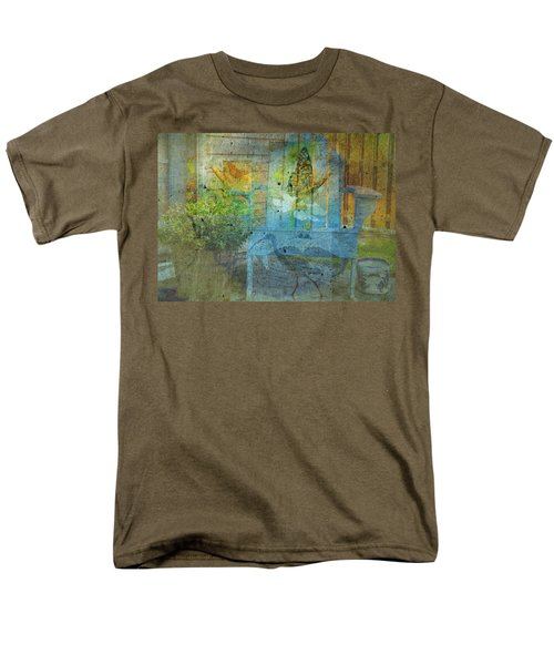 Garden Party  Men's T-Shirt  (Regular Fit) by Mary Ward
