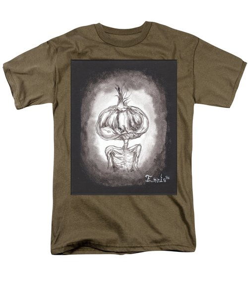 Men's T-Shirt  (Regular Fit) featuring the painting Garlic Boy by Christophe Ennis