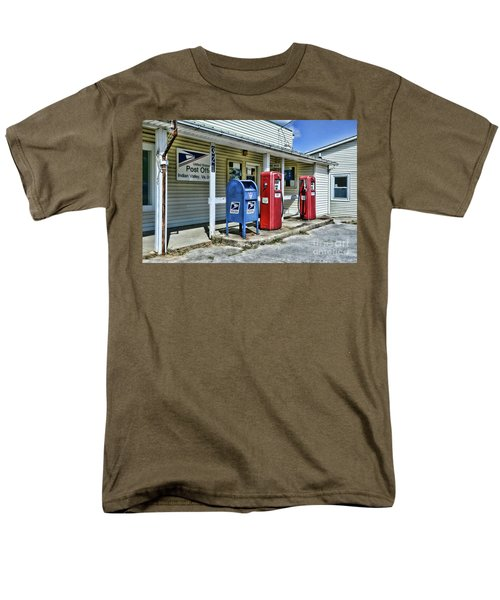 Gas And Mail Men's T-Shirt  (Regular Fit) by Paul Ward
