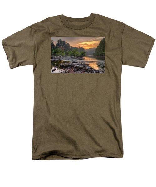 Gasconade River Men's T-Shirt  (Regular Fit) by Robert Charity