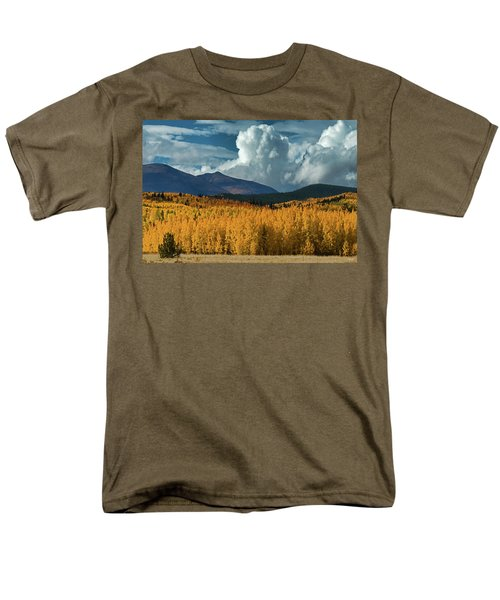 Men's T-Shirt  (Regular Fit) featuring the photograph Gathering Storm - Park County Co by Dana Sohr