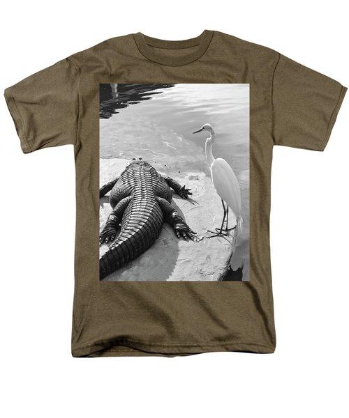 Gator Hand Men's T-Shirt  (Regular Fit) by Josy Cue