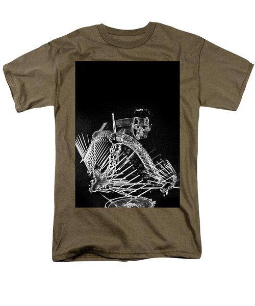 Gene Krupa Men's T-Shirt  (Regular Fit) by Charles Shoup