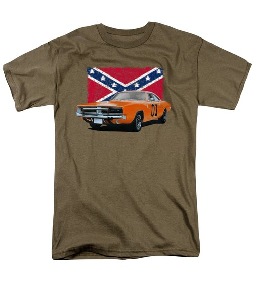 General Lee Rebel Men's T-Shirt  (Regular Fit) by Paul Kuras