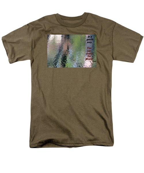 Men's T-Shirt  (Regular Fit) featuring the photograph Gentleness Is Victory by David Norman