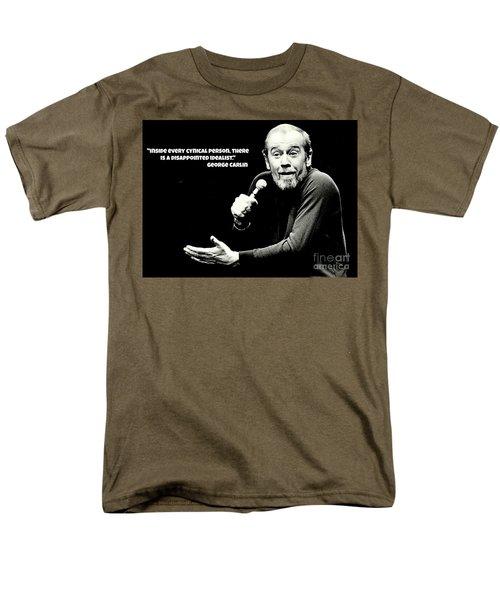George Carlin Art  Men's T-Shirt  (Regular Fit) by Pd