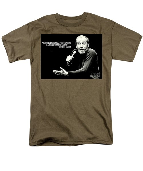 George Carlin Art  Men's T-Shirt  (Regular Fit)