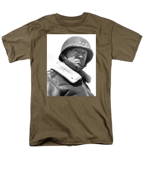George S. Patton Unknown Date Men's T-Shirt  (Regular Fit) by David Lee Guss