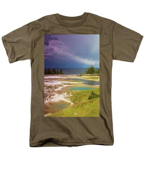 Geysers Pools Men's T-Shirt  (Regular Fit) by Dawn Romine