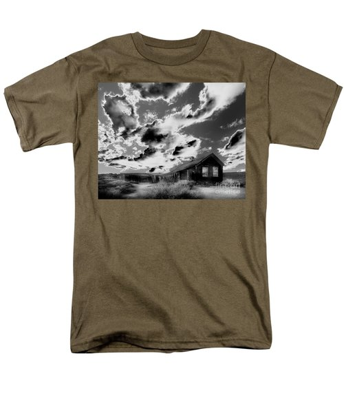 Men's T-Shirt  (Regular Fit) featuring the photograph Ghost House by Jim and Emily Bush