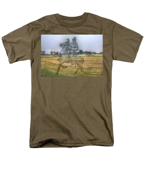 Ghost Of Gettysburg Men's T-Shirt  (Regular Fit) by Randy Steele