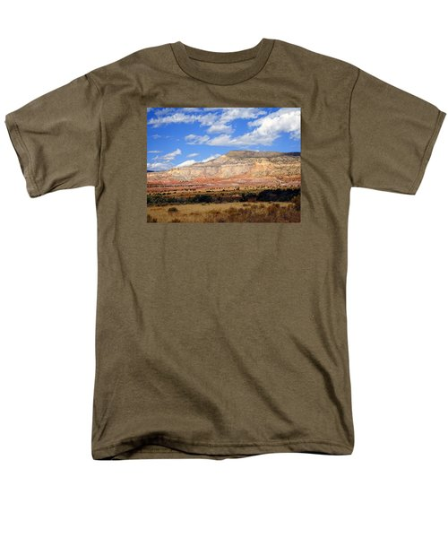Men's T-Shirt  (Regular Fit) featuring the photograph Ghost Ranch New Mexico by Kurt Van Wagner