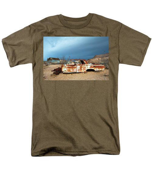 Ghost Town Old Car Men's T-Shirt  (Regular Fit) by Catherine Lau